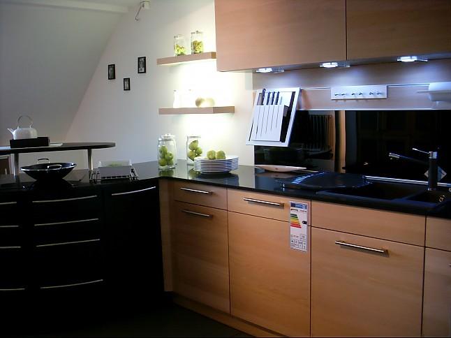 kornmüller-musterküche moderne küche mit griff und einladender ... - Küche Braunschweig