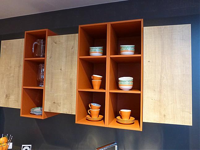 contur musterk che k che in lavaschwarz mit asteiche ausstellungsk che in frielendorf von. Black Bedroom Furniture Sets. Home Design Ideas