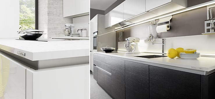 nolte musterk che angebotsk che weltneuheit von nolte. Black Bedroom Furniture Sets. Home Design Ideas