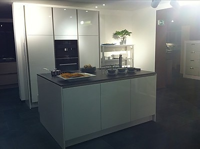 siematic musterk che siematic ausstellungsk che in bielefeld von k chenhaus erich pohl. Black Bedroom Furniture Sets. Home Design Ideas