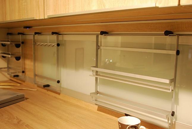 alno musterk che hochwertige l k che mit besonders pflegeleichter glasfront ausstellungsk che. Black Bedroom Furniture Sets. Home Design Ideas