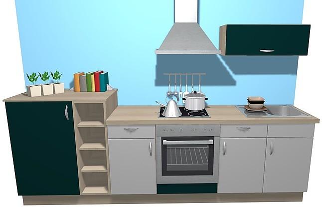burger musterk che kunststoff alufarbig petrol. Black Bedroom Furniture Sets. Home Design Ideas