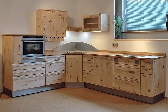 pfister naturholzk chen musterk che ausstellungsk che. Black Bedroom Furniture Sets. Home Design Ideas
