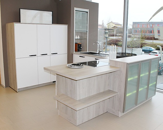 bauformat-Musterküche BAUFORMAT Küche Modell NEW YORK - Musterküche ...