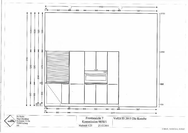 bulthaup musterk che laminat alpinwei ausstellungsk che in freiburg von die k che. Black Bedroom Furniture Sets. Home Design Ideas