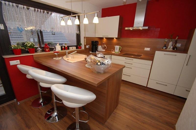 Küche Mit Eckspüle | Magnolie Und Nussbaum Villeroy Boch Solo Eckspule Constructa