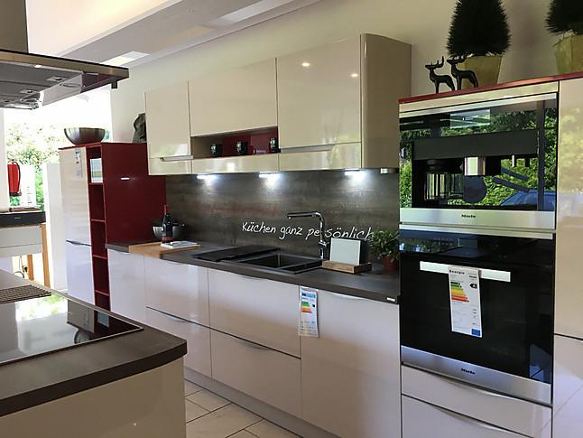 Omt Küchen altano musterküche küchenzeile mit kochinsel ausstellungsküche in