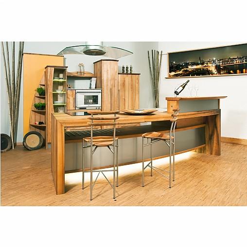 pfister naturholzk chen musterk che k cheninsel ausstellungsk che in angelbachtal von. Black Bedroom Furniture Sets. Home Design Ideas