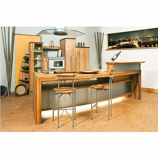 pfister naturholzk chen musterk che k cheninsel. Black Bedroom Furniture Sets. Home Design Ideas