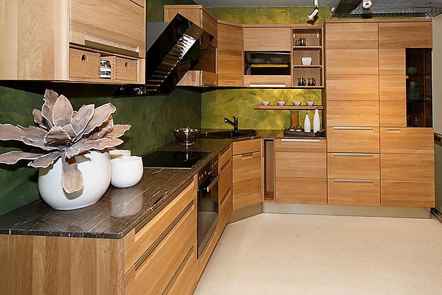 sonstige musterk che moderne massivholz k che ausstellungsk che in freudenburg von m bel bauer kg. Black Bedroom Furniture Sets. Home Design Ideas