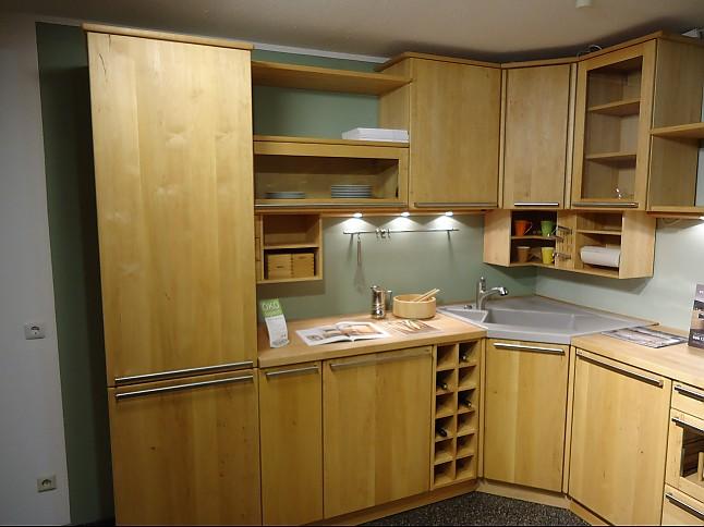 team 7 musterk che der klassiker in massivholz ausstellungsk che in von. Black Bedroom Furniture Sets. Home Design Ideas