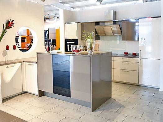 Rational puro camee moderne küche mit insellösung zum abverkaufspreis