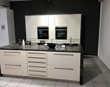 Matt Lack Küche Mit Kochinsel   Micron Mattlack