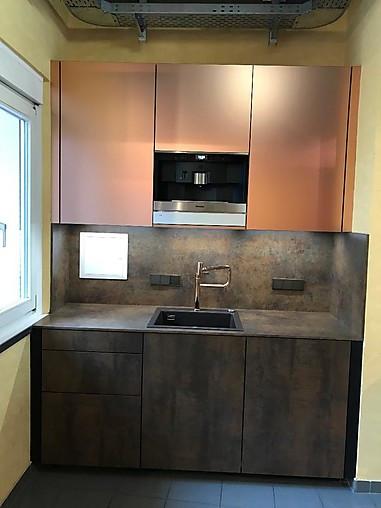kh system m bel musterk che die kleine luxus k che aus 2017 ausstellungsk che in frankfurt am. Black Bedroom Furniture Sets. Home Design Ideas