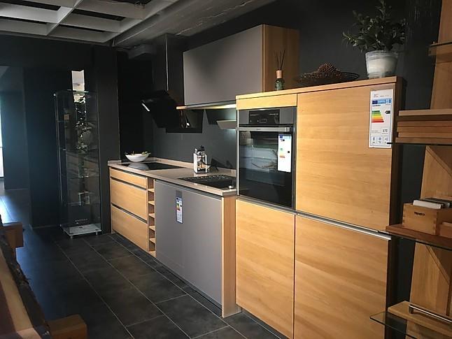 team 7 musterk che mk 16 b ausstellungsk che in uhingen von k chen kompetenz center. Black Bedroom Furniture Sets. Home Design Ideas