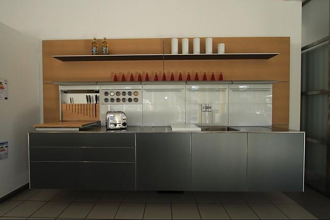 B3 aluminium ausstellungsküche in ottobrunn von die moderne küche