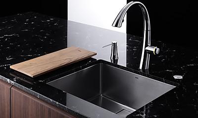 Moderne Küchenspüle KWC ZOE