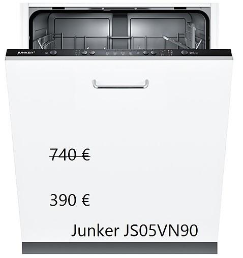 spülmaschine junker geschirrspüler js05vn90 60 cm js05vn90 junker