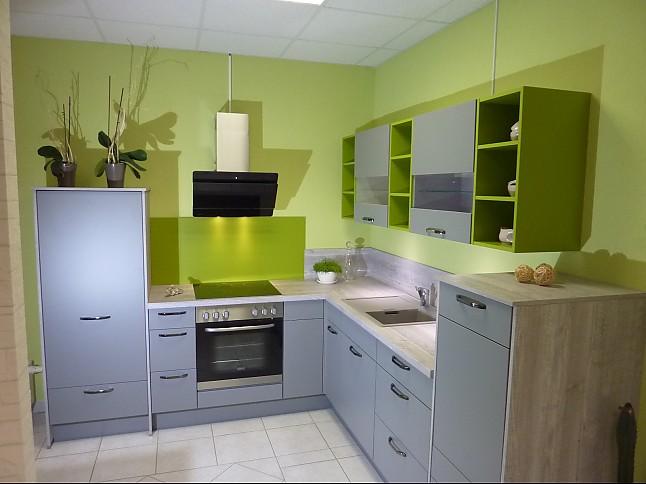 nobilia musterk che mineralgrau ausstellungsk che in hettstedt walbeck von k chenhaus. Black Bedroom Furniture Sets. Home Design Ideas