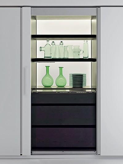 Die Küchen von Dada sind mit raffinierten Details ausgestattet