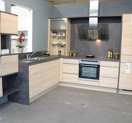 nobilia musterk che moderne hochglanz g k che mit viel stauraum ausstellungsk che in. Black Bedroom Furniture Sets. Home Design Ideas
