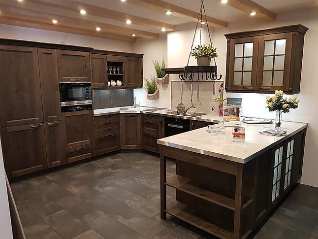 sachsenk chen musterk che frida massivholz asteiche. Black Bedroom Furniture Sets. Home Design Ideas