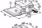 kochfeld kmda 7774 fr induktionskochfeld mit integriertem wrasenabzug mit zwei powerflex. Black Bedroom Furniture Sets. Home Design Ideas