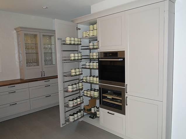 h cker musterk che moderner landhausstil echtholz lackiert in kaschmir l from mit. Black Bedroom Furniture Sets. Home Design Ideas