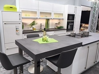 nobilia musterk che einbauk che mit kochinsel. Black Bedroom Furniture Sets. Home Design Ideas