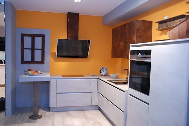 nobilia musterk che moderne beton optik k che ausstellungsk che in simmern von k chentreff steffen. Black Bedroom Furniture Sets. Home Design Ideas