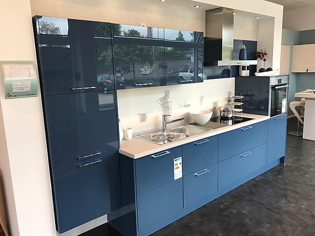 Hausmarke-Musterküche Interessante farbige Küche in Antikblau mit ...