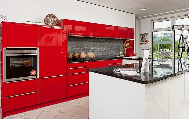 Hausmarke-Musterküche Moderne Ferrari rot glänzende Küche + Snow ...
