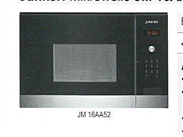 mikrowelle junker