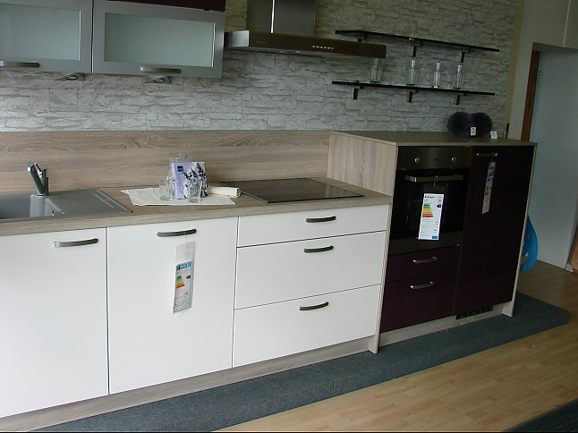 Sonstige musterkuche 2 farbige kuchenzeile for Express küchen preise