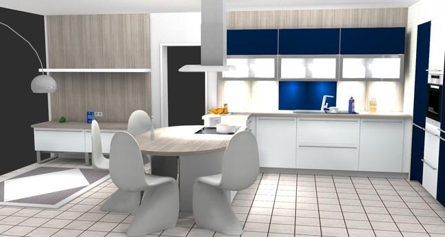 alno musterk che l k che mit sitzgelegenheit im kochfeldbereich ausstellungsk che in bernau. Black Bedroom Furniture Sets. Home Design Ideas