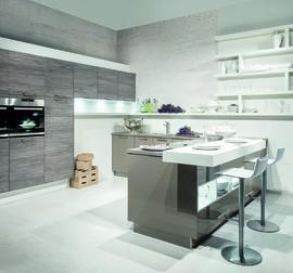 h cker musterk che drastisch reduziert ger umige ausstellungsk che ausstellungsk che in. Black Bedroom Furniture Sets. Home Design Ideas