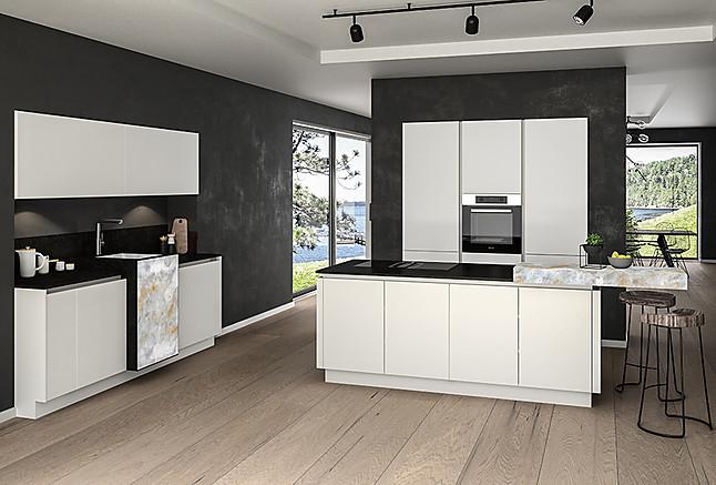 Marquardt Küchen-Musterküche Aktionsküchen Premium mit Granit und ...