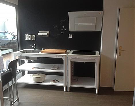 Musterküchen: Lang Küchen und Accessoir in Pfungstadt | {Modulküche edelstahl 65}