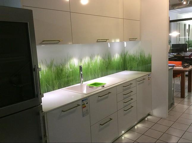 Küchenangebote nürnberg  Schmidt Küchen-Musterküche moderne Küchenzeile HPL Schichtstoff weiß ...
