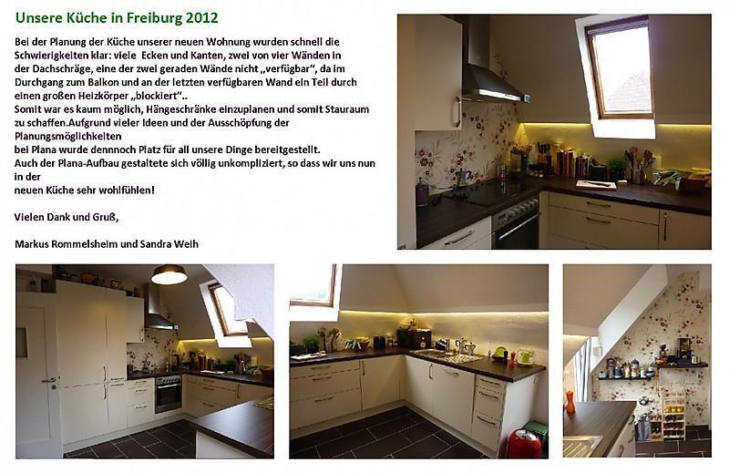 Unsere Küche in Freiburg 2012 Küche von Rommelsheim