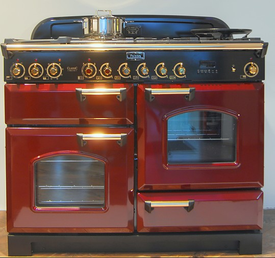 Warmeschubladen und tellerwarmer falcon classic deluxe 110 for Backofen gas