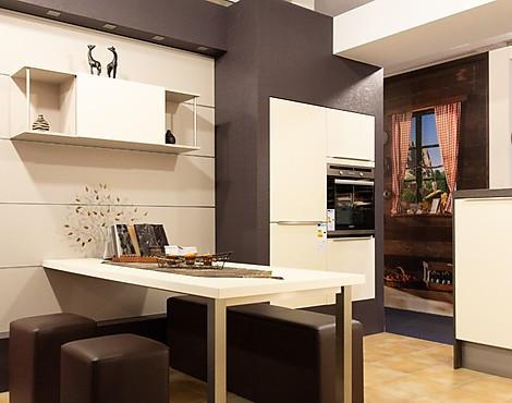 Hochwertig Premium Häckerküche Lack Matt Magnolie   AV 5000