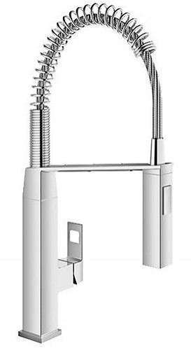 Top Armatur Küchenarmatur Grohe Eurocube chrom 31 395 000 Grohe ME09