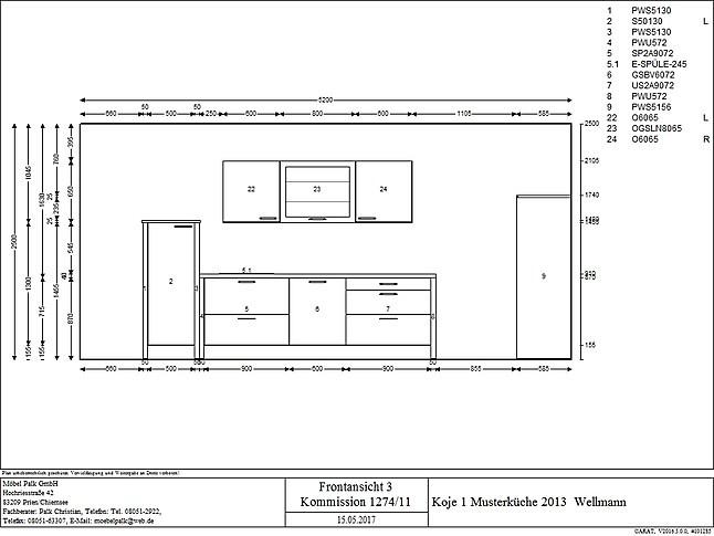 Kochinsel Tiefe wellmann musterküche moderne planung mit kochinsel