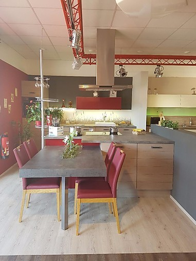 Störmer Küchen   Programm 6650 Lüttich Moderne Massivholz Front In  Brettoptik Küche,