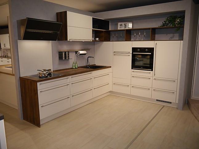selektion d-musterküche moderne l-küche: ausstellungsküche