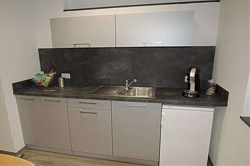 Büroküche  Büroküche mit Blanco Einbauspüle - Küche von Familie S. aus ...