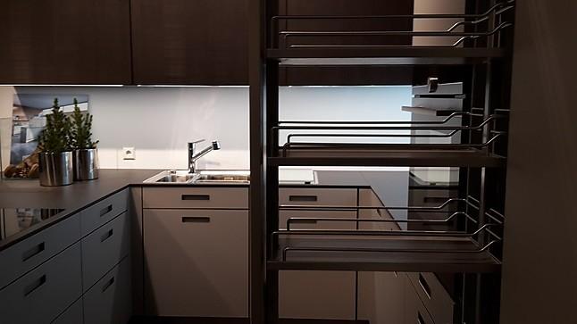 next125 musterk che elegante design einbauk che in steingrau ausstellungsk che in kirchheim. Black Bedroom Furniture Sets. Home Design Ideas