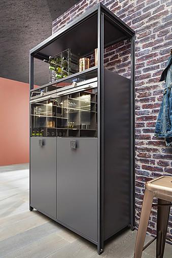 Bauformat musterk che industrial design modul for Kuchenstudios in bielefeld