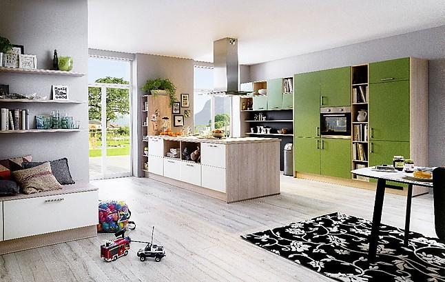 bauformat musterk che gem tliche inselk che ausstellungsk che in weinb hla von der neue h lsbusch. Black Bedroom Furniture Sets. Home Design Ideas